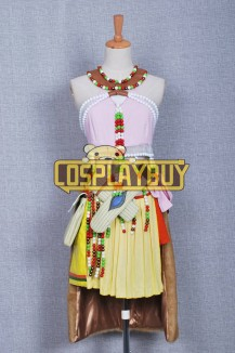 FF13 Cosplay Oerba Dia Vanille Dress