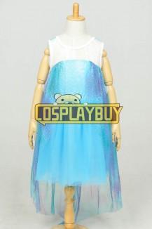 Frozen Cosplay Elsa Children Dress