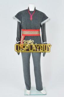 Frozen Cosplay Kristoff Gray Uniform