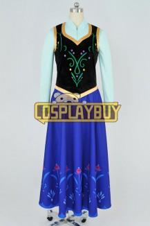 Frozen Cosplay Princess Anna Dress