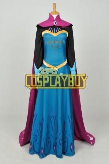 Frozen Cosplay Queen Elsa Coronation Costume