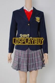 Kill Bill Costume Gogo Yubari School Uniform