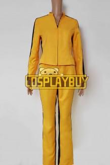 Kill Bill Costume Beatrix Kiddo Yellow Uniform