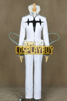 Kill La Kill Cosplay Houka Inumuta White Uniform