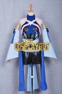 Kingdom Hearts Birth By Sleep Cosplay Aqua Dress