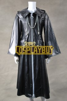 Kingdom Hearts Organization XIII 13 Cosplay Leather Coat