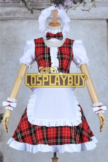 Lollipop Chainsaw Cosplay Juliet Starling Maid Dress