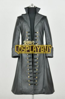 Once Upon A Time 3 Captain Hook Trench Coat