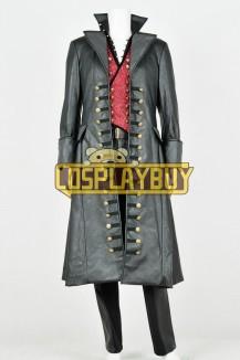 Once Upon A Time 3 Captain Hook Uniform