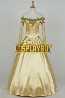 Once Upon A Time Belle Golden Dress