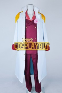 One Piece Cosplay Admiral Akainu Uniform