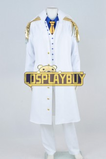 One Piece Cosplay Admiral Aokiji Costume