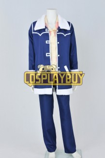 One Piece Cosplay Tashigi Blue Uniform