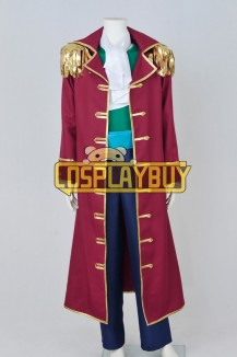 One Piece Cosplay Gol D Roger Costume Pirate Hat