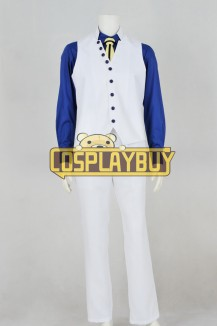 One Piece Cosplay Navy Admiral Aokiji Costume