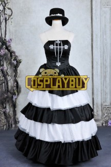 One Piece Cosplay Perona Formal Dress