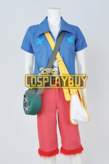 One Piece Strong World Cosplay Monkey D Luffy Full Set