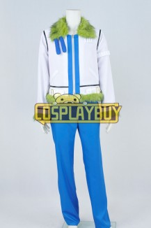 One Piece Cosplay Smoker Costume