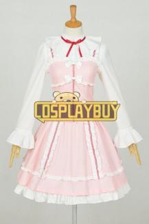 Oreimo Cosplay Ruri Gokō Pink Dress
