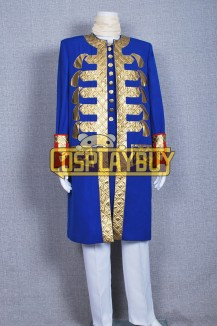 Pirates Of The Caribbean 4 Captain Barbossa Blue Coat