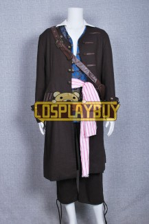 Pirates Of The Caribbean 4 Jack Sparrow Coat