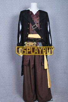Pirates Of The Caribbean Barbossa Costume Full Set