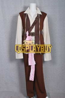 Pirates Of The Caribbean Jack Sparrow Suede Ver