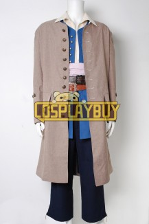 Pirates Of The Caribbean Jack Sparrow Trench Coat