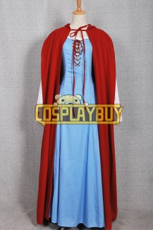 Red Riding Hood Costume Valerie Dress Cape