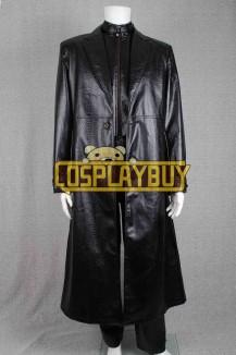 Resident Evil 5 Costume Albert Wesker Leather Uniform
