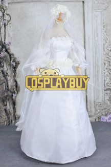 Sailor Moon Cosplay Usagi Tsukino Wedding Dress