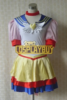 Sailor Moon Cosplay Venus Battle Dress