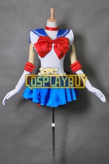Sailor Moon Cosplay Serena Usagi Tsukino Blue Dress