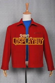 Smallville Clark Kent Denim Red Jacket