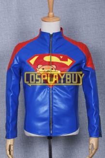 Smallville Clark Kent Leather Blue Jacket