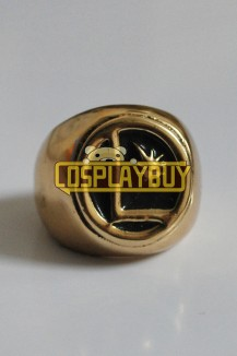 Smallville Superhero Gold Ring
