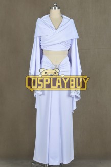 Star Wars Padme Amidala White Dress