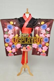 Super Sonico Cosplay Summer Worship Kimono
