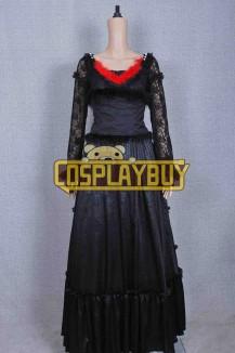 Sweeney Todd Costume Mrs Lovett Black Dress