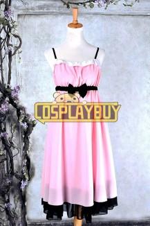 Sword Art Online Cosplay Asuna Pink Dress