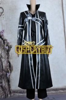 Sword Art Online Cosplay Kirito Costume Leather Ver