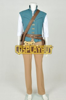 Tangled Rapunzel Cosplay Flynn Rider Costume