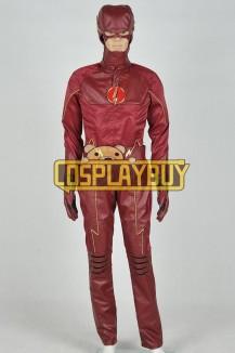 The Flash Cosplay Barry Allen Uniform