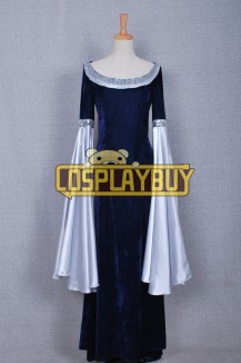 The Lord Of The Rings Arwen Blue Dress