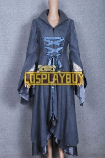 The Lord Of The Rings Arwen Coat Grey Dress