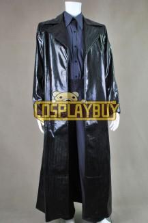 The Matrix Neo Snake Grain Leather Coat