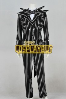 The Nightmare Before Christmas Costume Jack Skellington Uniform