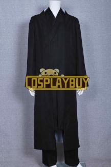 Tron: Legacy Costume Kevin Flynn Clu Black Kimono