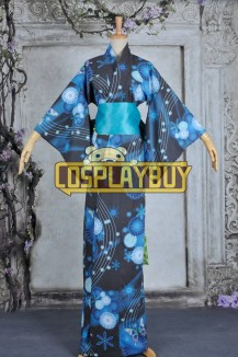 Vocaloid 2 Cosplay Hatsune Miku Kimono