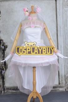 Vocaloid 2 Cosplay Hatsune Miku Hanayome Wedding Dress